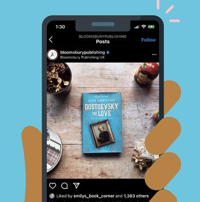 Просування книги в Instagram