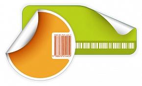 рекламні наклейки і етикетки
