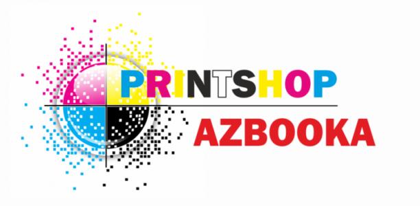 printshop AZBOOKA роль логотипу