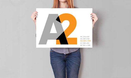 Виготовлення плакатів А2