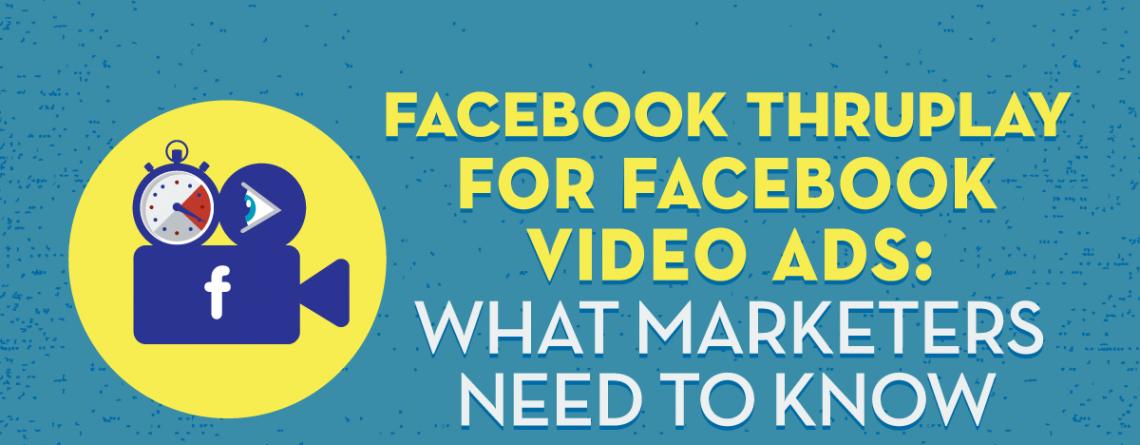 Facebook ThruPlay для відеореклами Facebook