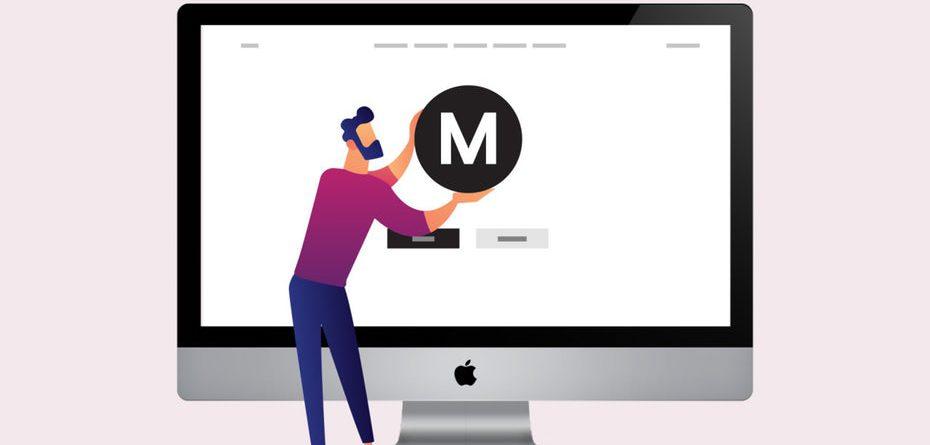 мінімалістський веб-дизайн