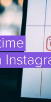публикации в Instagram