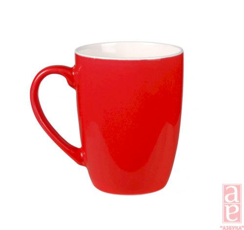 чашка керамическая под нанесене логотипа